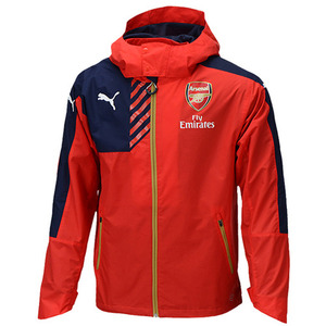 15-16 Arsenal Rain Jacket - Red