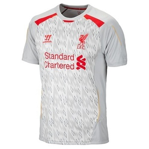 13-14 Liverpool(LFC) Training Jersey (Grey)