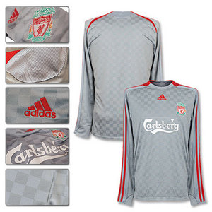 08-09 Liverpool Away L/S (Champions League)