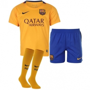 [해외][Order] 15-16 FC Barcelona Away - Little Boys Mini Kit