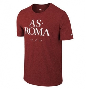 [해외][Order] 15-16 AS Roma Core Type Tee - Maroon