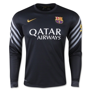 [해외][Order] 15-16 FC Barcelona Home GK (Black) - KIDS