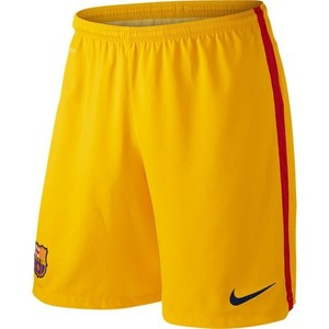 [해외][Order] 15-16 FC Barcelona Home GK Shorts - Gold