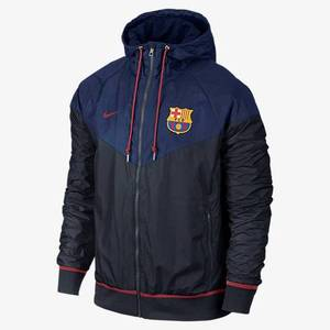 [해외][Order] 15-16 Barcelona Authentic WindRunner Jacket - Loyal Blue/Dark Obsidian/Storm Red
