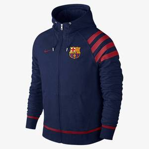 [해외][Order] 15-16 Barcelona Authentic AW77  Full Zip Hoody - Navy