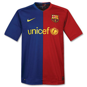 [Order]08-09 Barcelona Home - Player Issue