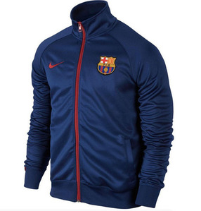 [해외][Order] 15-16 Barcelona Core Trainer Jacket  - Loyal Blue