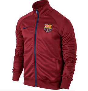 [해외][Order] 15-16 Barcelona Core Trainer Jacket - Strom Red