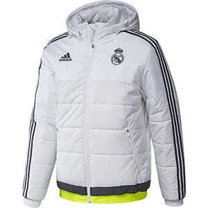[해외][Order] 15-16 Real Madrid (RCM) Training Padded Jacket - White
