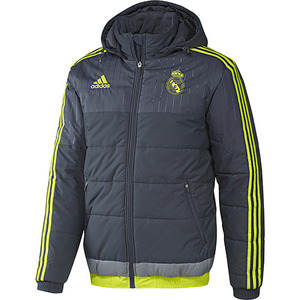 [해외][Order] 15-16 Real Madrid (RCM) Training Padded Jacket - Dark Grey