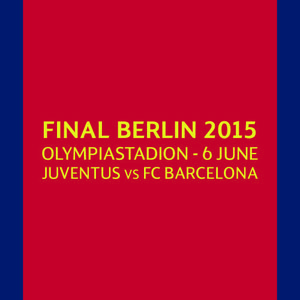 14-15 UEFA Champions League Berlin Final Match Day Transfer (MDT)