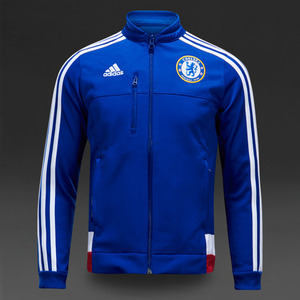 [해외][Order] 15-16 Chelsea(CFC) Anthem Jacket - Blue