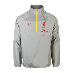 [해외][Order] 14-15 Liverpool(LFC) Half-Zip Training Windbreaker - Grey