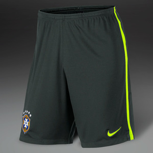14-15 Brasil (CBF) Longer Knit Shorts