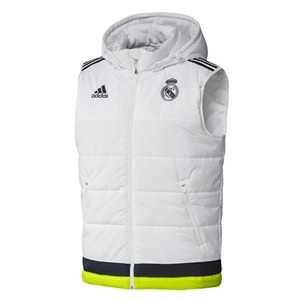 [해외][Order] 15-16 Real Madrid (RCM) Training Padded Vest - White