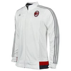 [해외][Order] 15-16 AC Milan Anthem Jacket - Core White