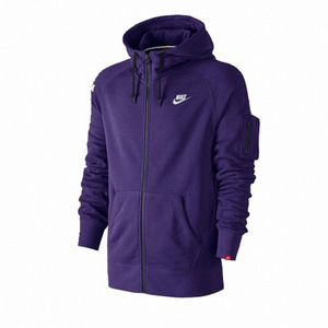 AS NIKE AW77 FT(French Terry) FZ(FullZip) HOODY - Purple
