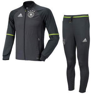 16-17 Germany (DFB) Training Suit (Solid Grey) - KIDS