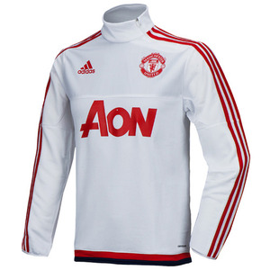 15-16 Manchester United Training Top - White