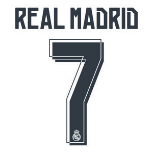 15-16 Real Madrid Printing