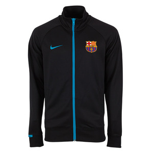 [해외][Order] 15-16 Barcelona Core Trainer Jacket - Black