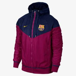 [해외][Order] 15-16 Barcelona Authentic WindRunner Jacket - Loyal Blue/Dynamic Berry/University Gold