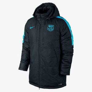[해외][Order] 15-16 Barcelona Medium Filled Jacket - Black/Light Current Blue