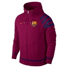 [해외][Order] 15-16 Barcelona Authentic AW77  Full Zip Hoody - Purple