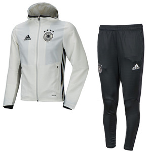 [해외][Order] 16-17 Germany (DFB) Presentation Suit - White/Solid Grey