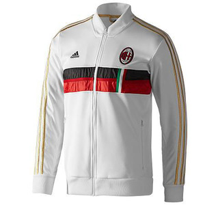 [해외][Order] 12-13 AC Milan Anthem Jacket - White