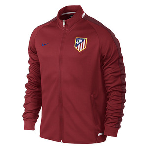 [해외][Order] 15-16 Atletico(AT) Madrid Authentic N98 Track Jacket - Varsity Red/Team Red/Drenched Blue