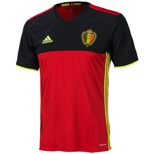 16-17 Belgium (KBVB) Home Jesey