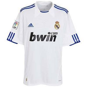 10-11 Real Madrid Home Women Jersey
