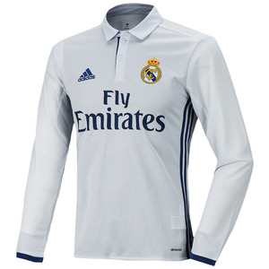 16-17 Real Madrid(RCM) Home L/S