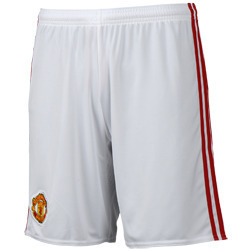 16-17 Manchester United Home Shorts
