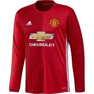[해외][Order] 16-17 Manchester United Boys Home L/S - KIDS