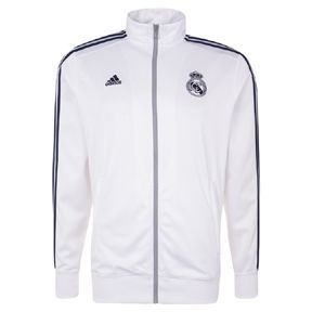 [해외][Order] 16-17 Real Madrid (RCM) 3 Stripe Track Top - Crystal White/Raw Purple