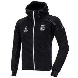 [해외][Order] 16-17 Real Madrid (RCM) UCL(UEFA Champions League) Anthem ZNE DayBreaker Jacket - Black/Crystal White