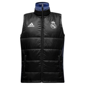 [해외][Order] 16-17 Real Madrid (RCM) Padded Vest - Black/Super Purple