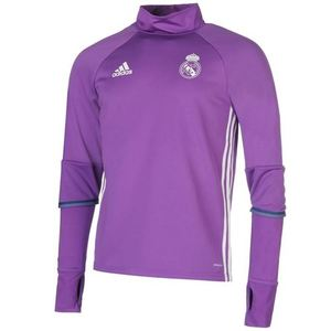 [해외][Order] 16-17 Real Madrid Training Top - Ray Purple/Crystal White