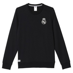 [해외][Order] 16-17 Real Madrid Training BST CR Sweat - Black