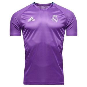 [해외][Order] 16-17 Real Madrid Training Shirt - Ray Purple/Crystal White
