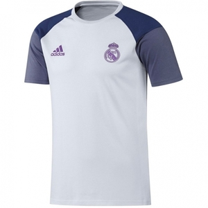 [해외][Order] 16-17 Real Madrid Tee - Crystal White/Raw Purple