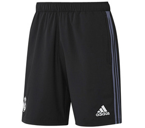 [해외][Order] 16-17 Real Madrid Woven Shorts - Black/Super Purple