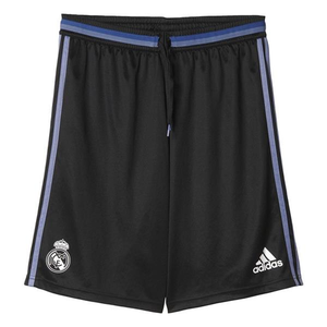 [해외][Order] 16-17 Real Madrid Training Shorts - Black/Super Purple