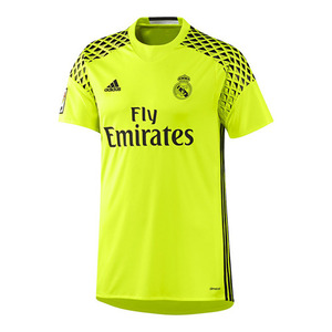 [해외][Order] 16-17 Real Madrid Away GK Shirt - Solar Yellow/Black