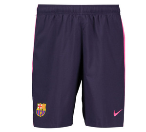 [해외][Order] 16-17 Barcelona  Boys Away Stadium Short - KIDS