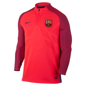 [해외][Order] 16-17 Barcelona Strike Drill Top  (Bright Crimson/Game Royal)