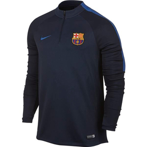 [해외][Order] 16-17 Barcelona Squad Drill Top L/S (Obsidian/Game Royal)