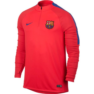 [해외][Order] 16-17 Barcelona Squad Drill Top (Bright Crimson/Game Royal)